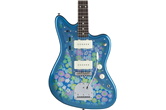 Fender Traditional 60s Jazzmaster Blue Flower Electric Guitar