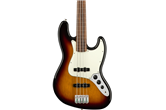 Fender Player Jazz Fretless PF Bass Guitar (3-Color Sunburst)