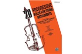20 Progressive Solos for String Instruments (Bass)