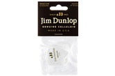 Dunlop Celluloid Picks,  White Medium   (12 pack)