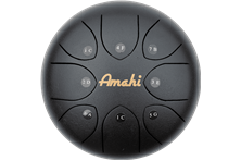 "Amahi 10"" Tongue Drum - Black"