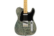 60s Quilted Maple Top Telecaster (Blue Cloud)
