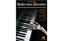 Halloween Favorites - Big Note Piano Sheet Music