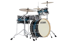 "Drum Set, Tama Superstar Classic Neo Mod 3pc 20"" Shell Pack Mod Blue Deco CL30VSMBD"