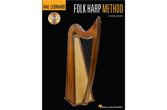Hal Leonard Folk Harp Method with CD