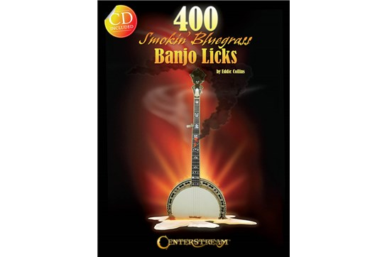 400 Smokin Bluegrass Banjo Licks