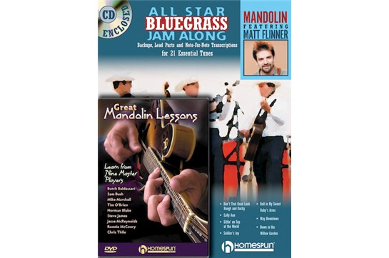 Mandolin Jam Along Bundle Pack