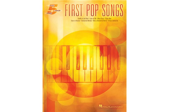 First Pop Songs - Five Finger Piano