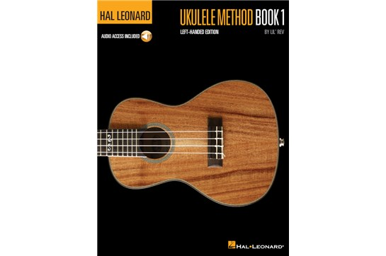 Hal Leonard Ukulele Method 1 (Left Handed)