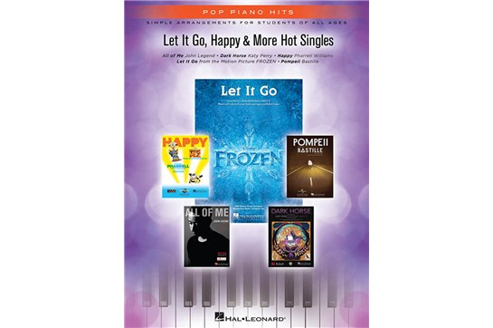 Let It Go, Happy & More Hot Singles for Piano