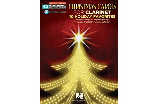Christmas Carols - Clarinet: Easy Instrument Play Along