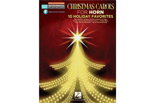 Christmas Carols for Horn: Easy Instrument Play Along