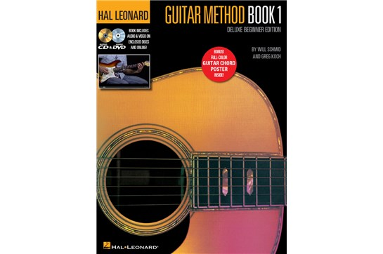 Hal Leonard Guitar Method 1 Deluxe Beginner Edition
