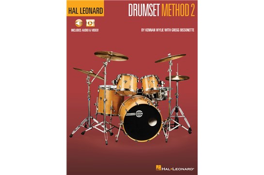 Hal Leonard Drumset Method – Book 2