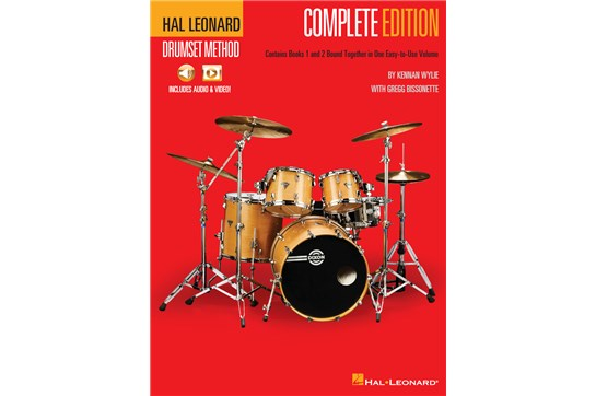Hal Leonard Drumset Method – Complete Edition Books 1 & 2