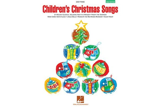 Children's Christmas Songs - Easy Piano