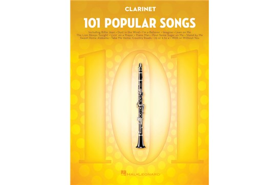 101 Popular Songs Clarinet