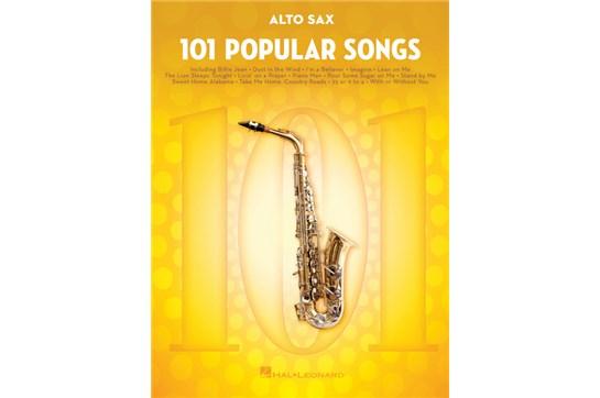101 Popular Songs Alto Sax