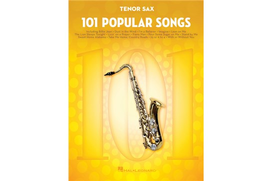 101 Popular Songs Tenor Sax
