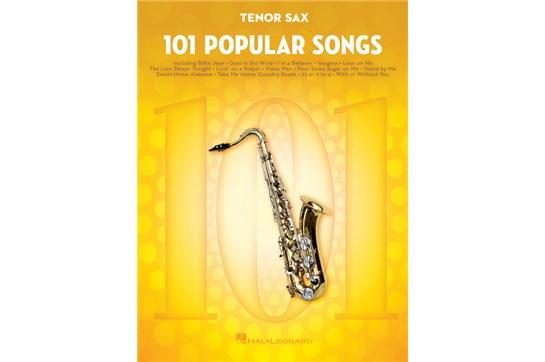 101 Popular Songs Tenor Sax