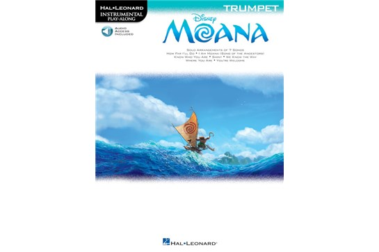 Moana Instrumental Play Along