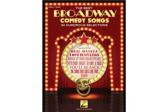 Broadway Comedy Songs (Piano Vocal)