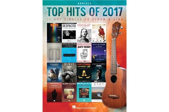 Top Hits of 2017 for Ukulele