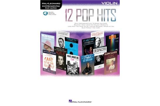 12 Pop Hits Violin