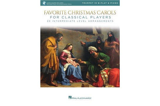 Favorite Christmas Carols For Classical Players (Trumpet and Piano)