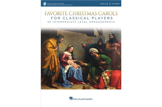 Favorite Christmas Carols For Classical Players (Cello and Piano)