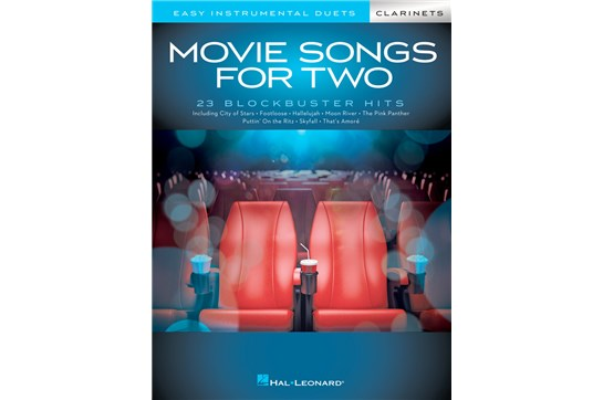Movie Songs for Two Clarinets