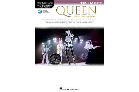 Queen Trumpet Updated Edition w/Audio
