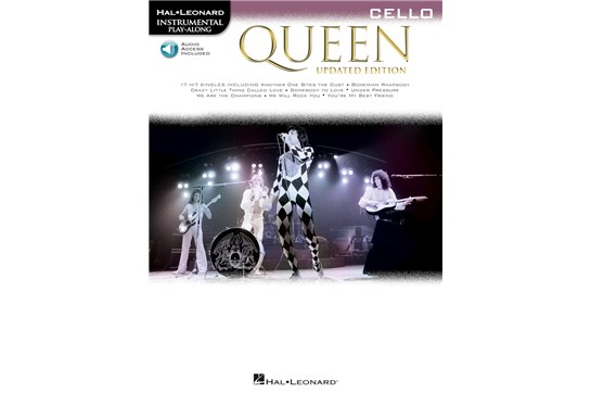 Queen Cello Updated Edition w/Audio