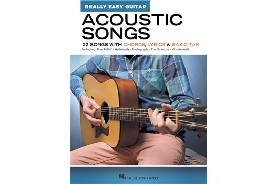 Acoustic Songs – Really Easy Guitar Series