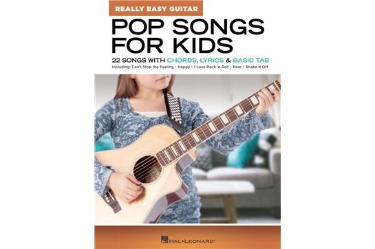 Pop Songs for Kids – Really Easy Guitar Series