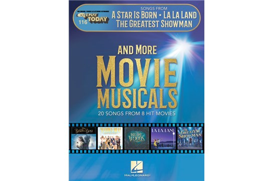 Songs From A Star is Born, La La Land, The Greatest Showman, and More Movie Musicals (Piano)