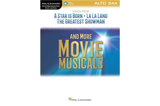Songs from A Star Is Born, La La Land, The Greatest Showman, and More Movie Musicals (Alto Sax)