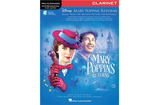 Mary Poppins Returns for Clarinet