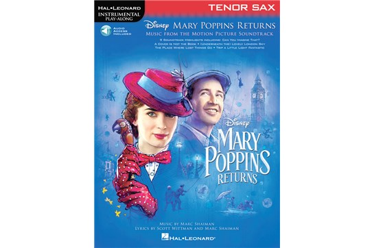 Mary Poppins Returns for Tenor Sax