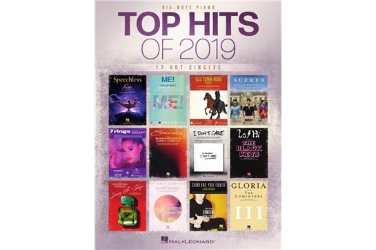 Top Hits of 2019 - Big Note Piano