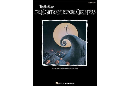The Nightmare Before Christmas - Easy Piano