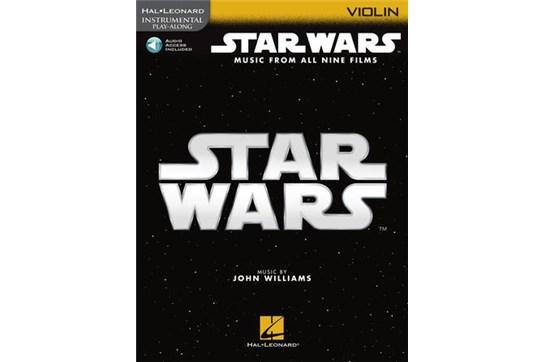 Star Wars - Instrumental Play-Along for Violin