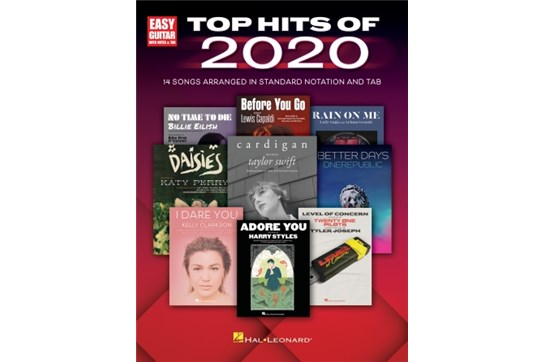 Top Hits of 2020 for Easy Guitar