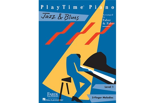 PlayTime Piano Jazz & Blues (Level 1)