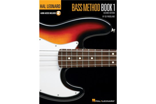 Hal Leonard Electric Bass Book 1 w/CD