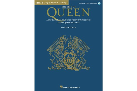 Best of Queen for Guitar w CD
