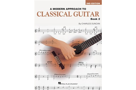 8211A1 B5, Modern Approach To Classical Guitar - Book 2
