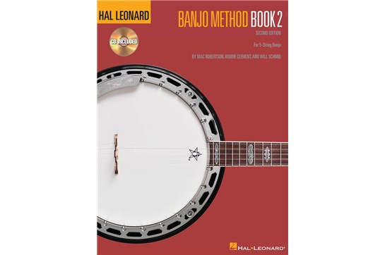 Hal Leonard Banjo Method 2 w/CD