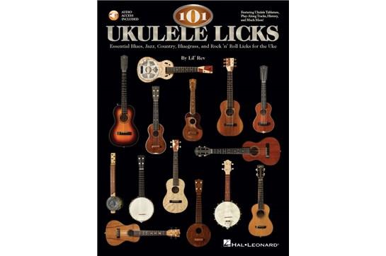 101 Ukulele Licks w/Online Audio