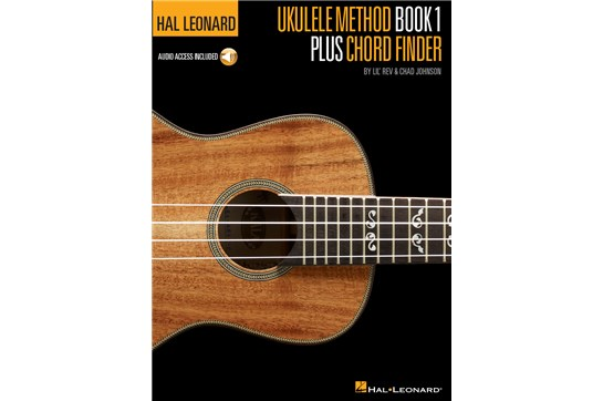 Hal Leonard Ukulele Method 1 w/Chord Finder